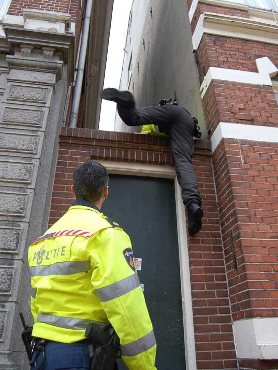 politie-breekt-in