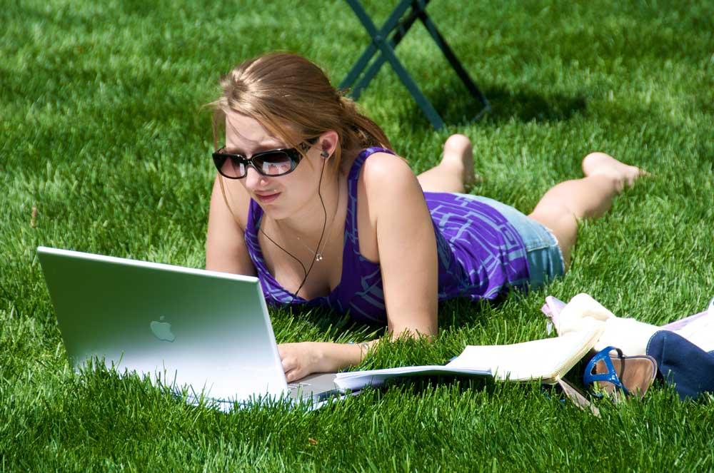 studeren-in-de-zon
