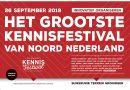 Het grootste kennisfestival van Noord-Nederland