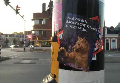 De sticker-oorlog van Groningen